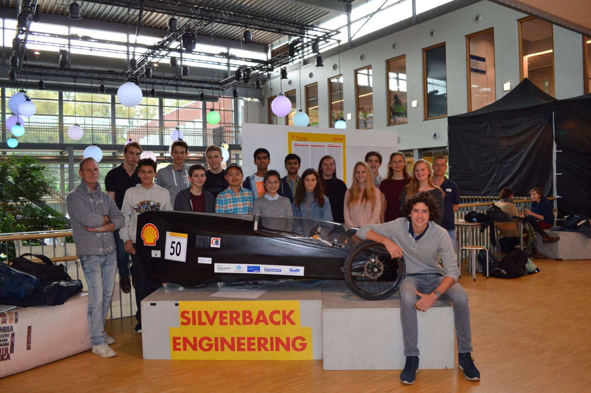 ISH Shell Eco Marathon Team 2014